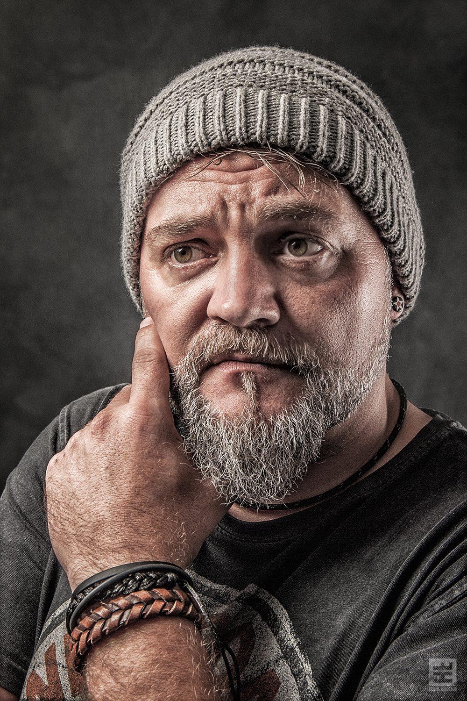 Portret Fotografie - Mannelijk portret met veel details