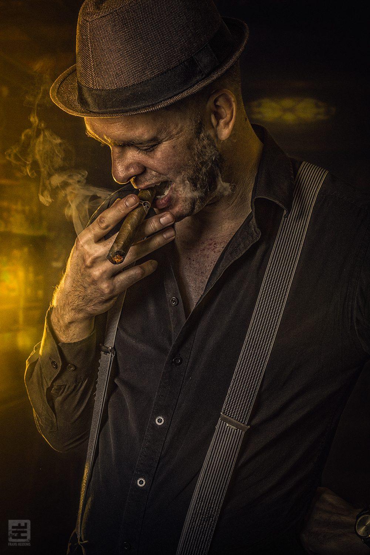 Portret Fotografie - Portret in de stijl van de oude maffia peaky blinders